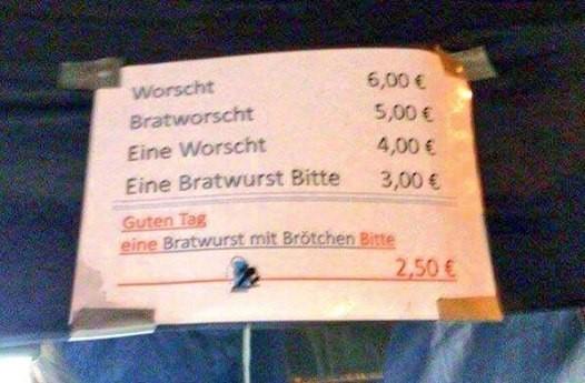 Bratwurst-Knigge