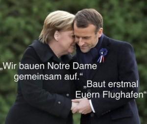Merkel & Macron